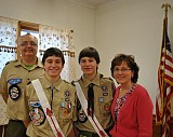 Richard, Alex, Matthew, and Gail Hascha